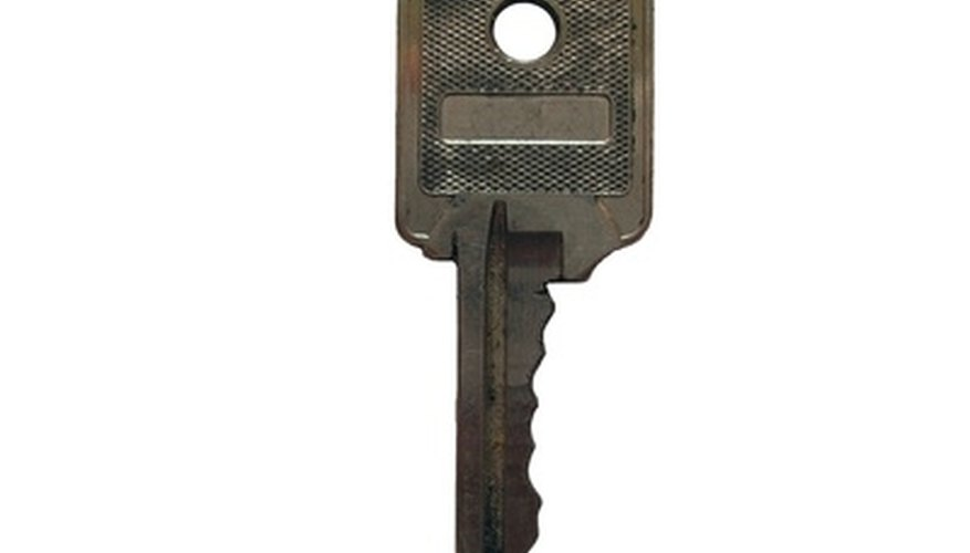 Hide outdoor keys well to prevent unauthorized use.