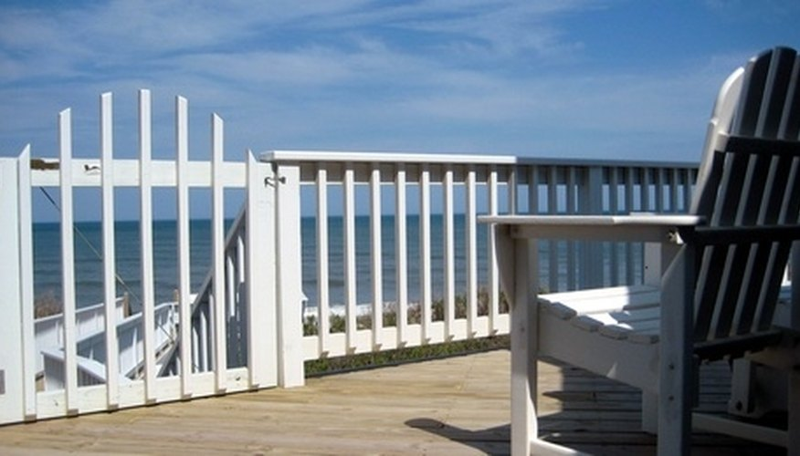 Deck space enclosed makes the area usable on more days of the year.