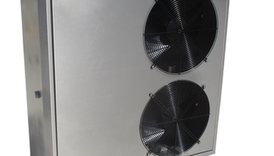 AC units use blower motors to circulate air through the home.