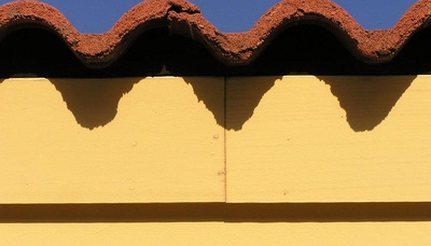 Repair broken and damaged barrel roof tiles.