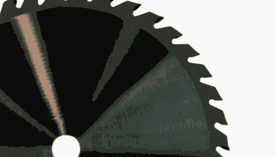 Use a diamond circular saw blade to cut brick pavers.
