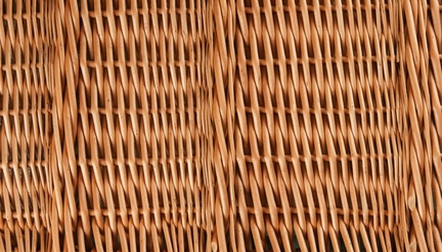 Willow screen fences add beauty that endures to your garden or yard.