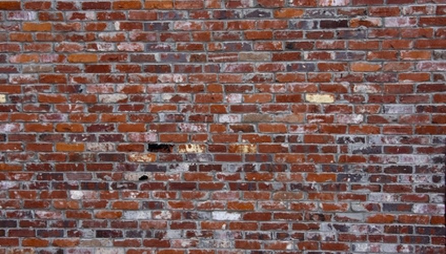 Maintain brick walls to ensure your foundation's stability.