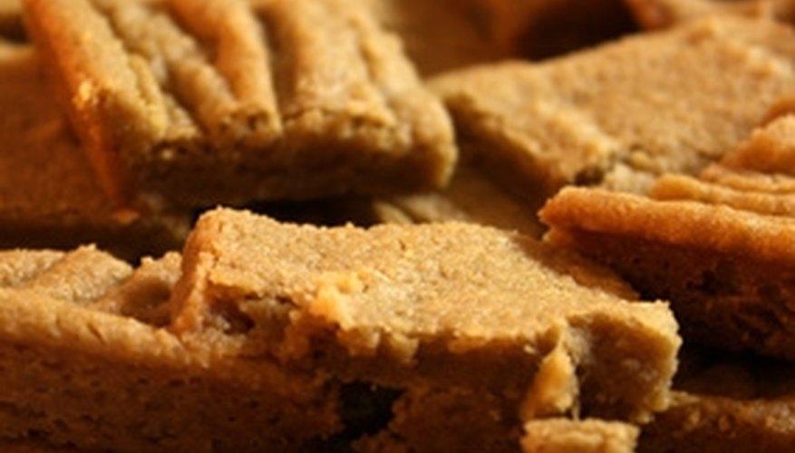 Tasty shortbread cookies