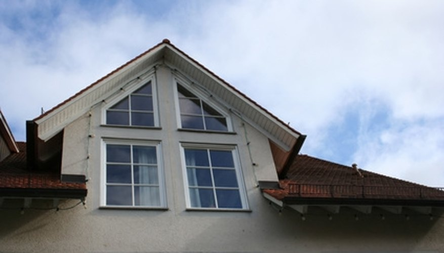 Many homes now have plastic window glazing and frames.