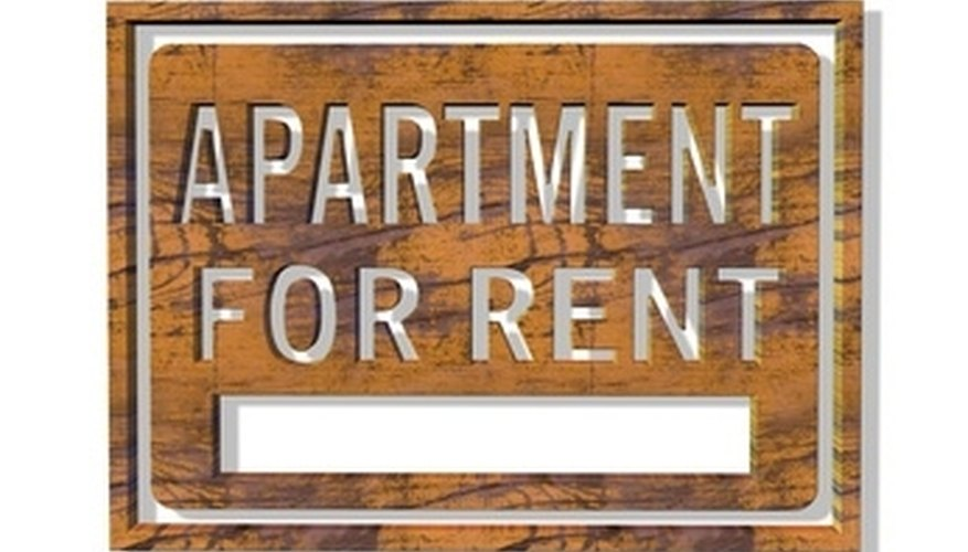 Owners of apartment complexes typically use property managers.