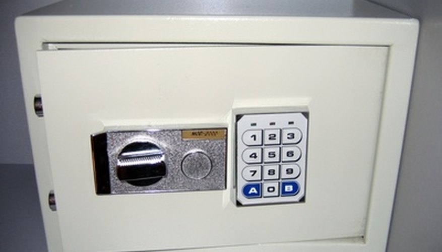 Home safes are a popular option for storing valuables.