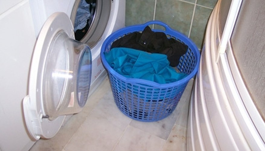 High efficiency washers save on water and energy usage.