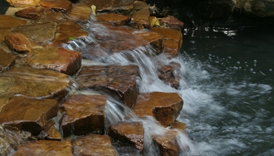 Building a cascading waterfall like this one can be a challenging task.