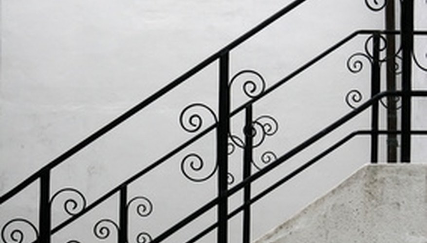 The height of a handrail is dependent on design needs and official requirements.