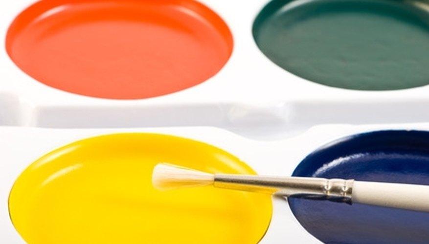 Repair enamel paint