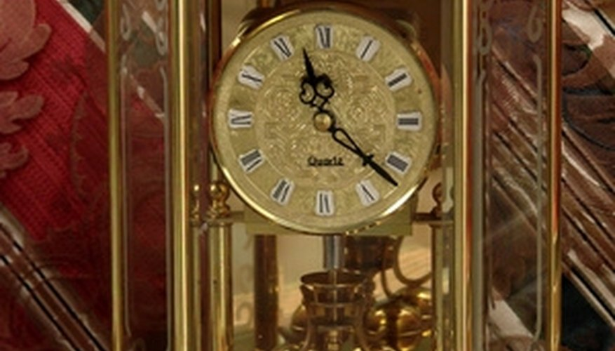 A 1000 day clock with four-ball pendulum.