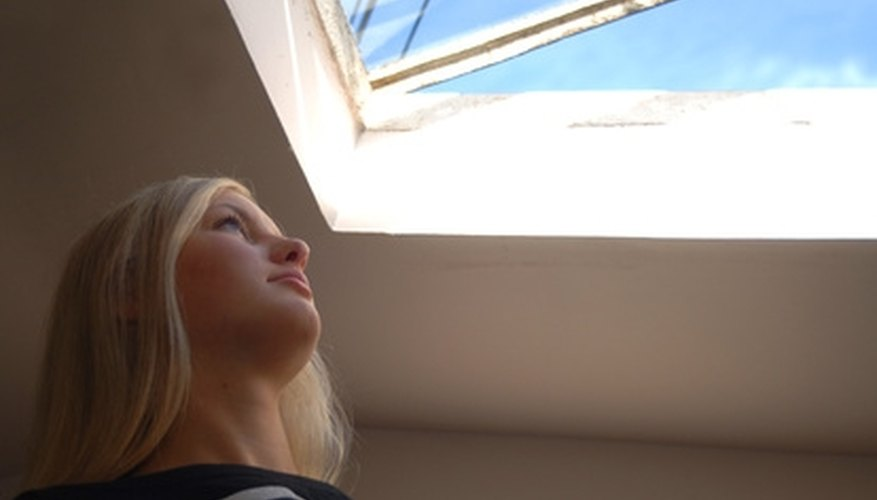 Several blocking options reduce light penetration through skylights.