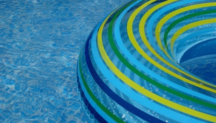A pool pump helps keep your pool water clean.