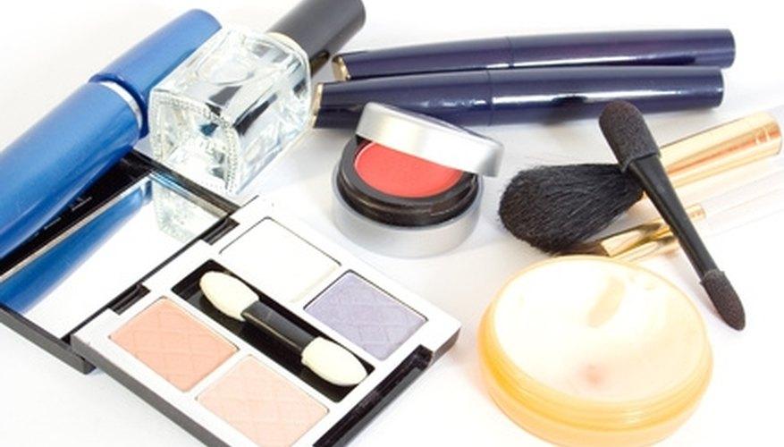 Benzalkonium chloride is present in many cosmetics.