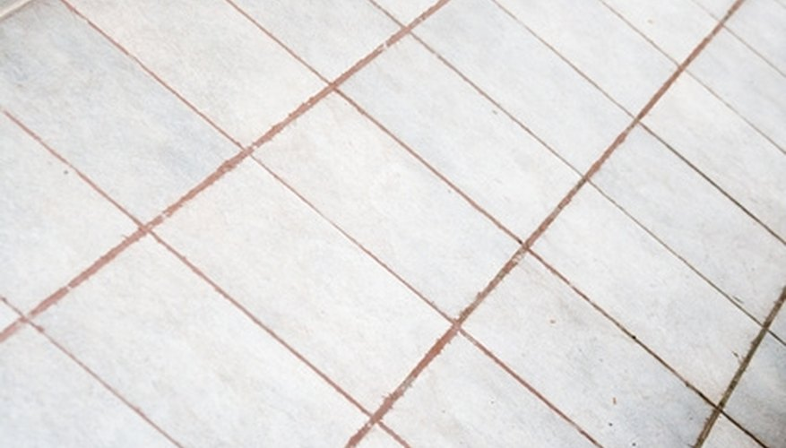 Grout removal takes patience.