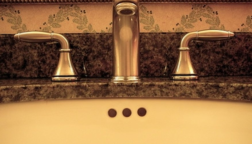Choose the right three-hole faucet.
