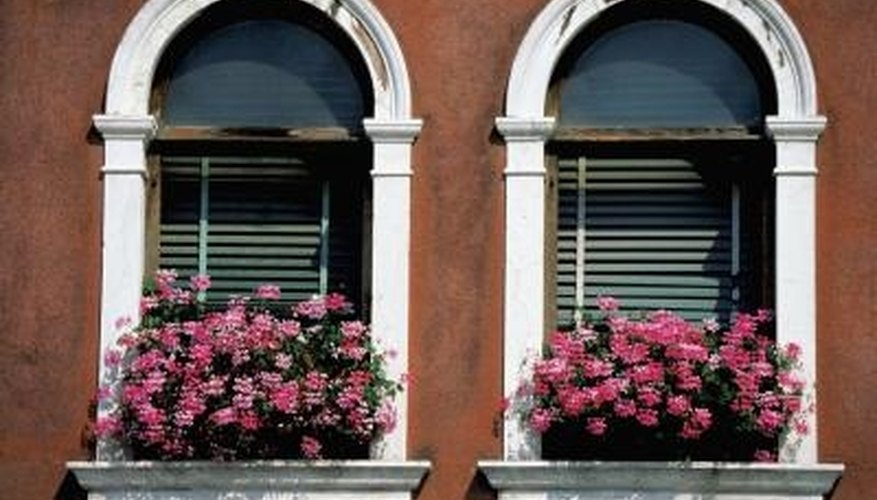 Mounting blinds in an arched window isn't necessarily a lengthy process.