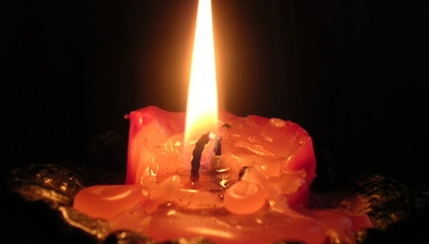 Candle wax is not difficult to remove from wood furniture.