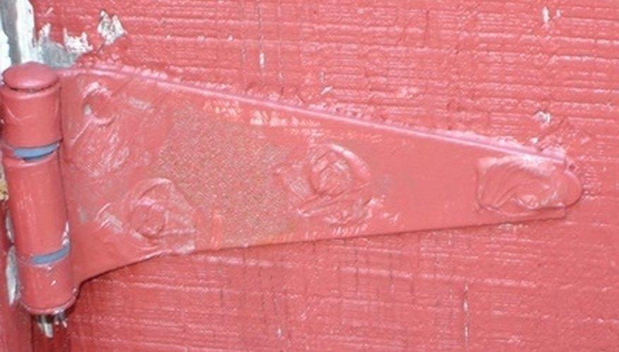 Restore painted hinges.