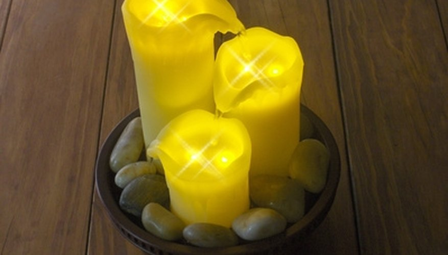 Candles can strike the right mood.