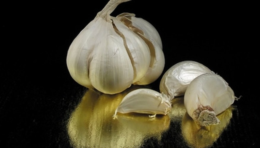 Fresh garlic adds to the flavor of many recipes.