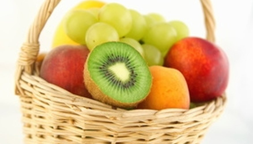 Free space on your counter by hanging your fruit basket.