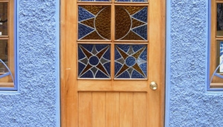 Caming is the material that makes an ordinary window look ornate.
