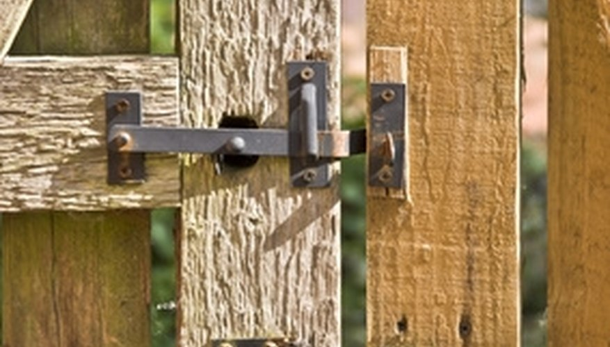 Support your garden gate post for years of service and beauty.