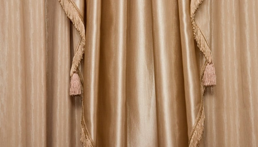 Use curtain liner to insulate even extremely thin curtains.