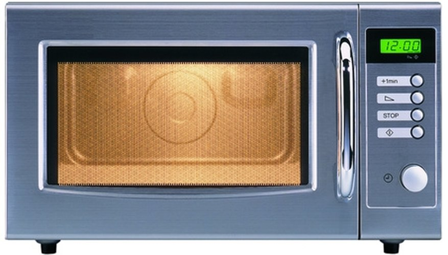 You can remove and replace a damaged microwave oven door in a few easy steps.