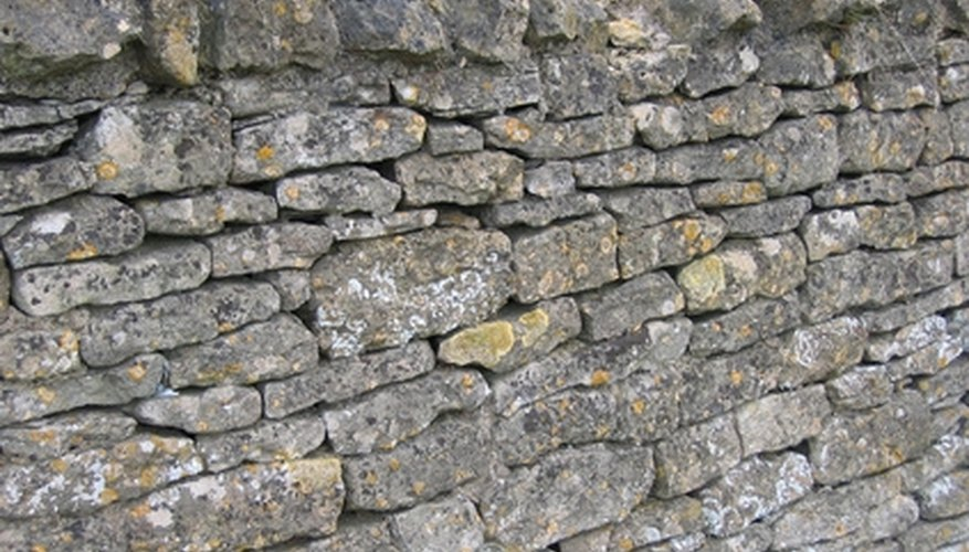A properly stacked rock wall will last for generations.