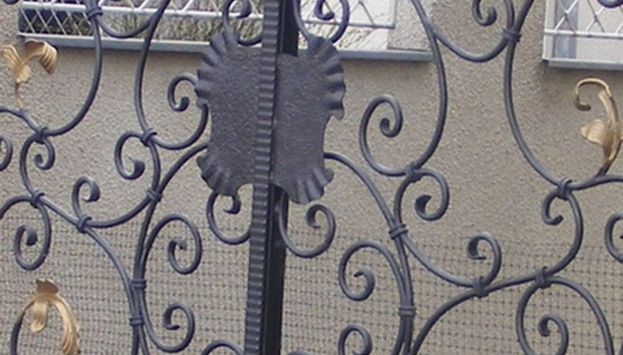 Ornamental iron work has been performed for centuries.