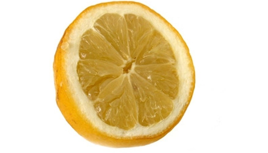 Lemons have diverse cleaning capabilities.
