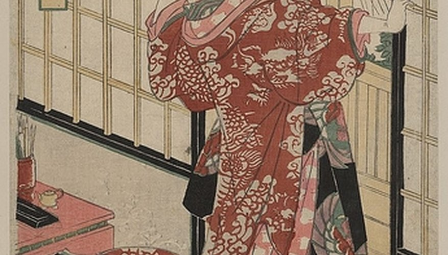 A Japanese print from the mid-18th century.