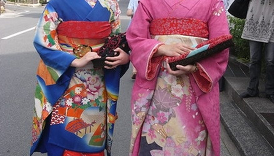 The traditional Japanese color palette has been broadened, even in Japan.