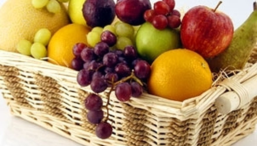 Arrange Fruit in a Basket