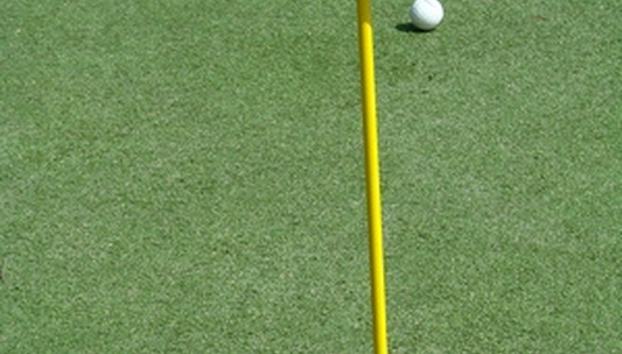 Homeowners can add a putting green to their yard with a little effort.