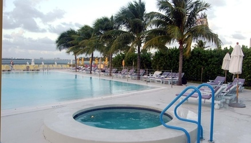 Swimming pool chemicals kill germs that can cause disease.