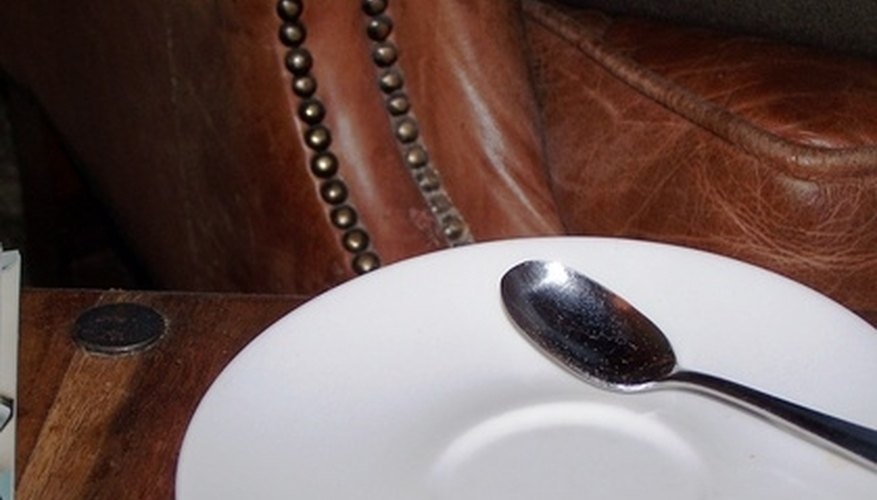 Teaspoons are specially designed for measuring sugar and stirring tea.
