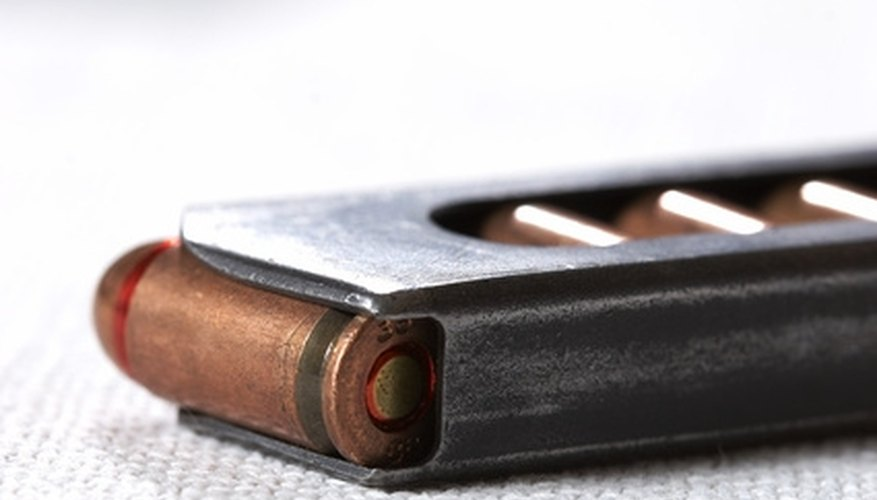 How to Load an M9 Beretta Pistol to Fire