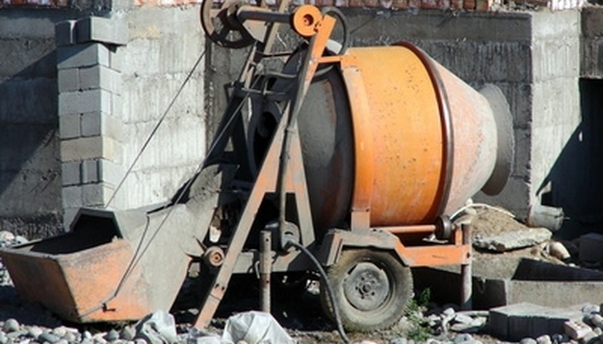 A concrete mixer may need to be cleaned with muriatic or hydrochloric acid.