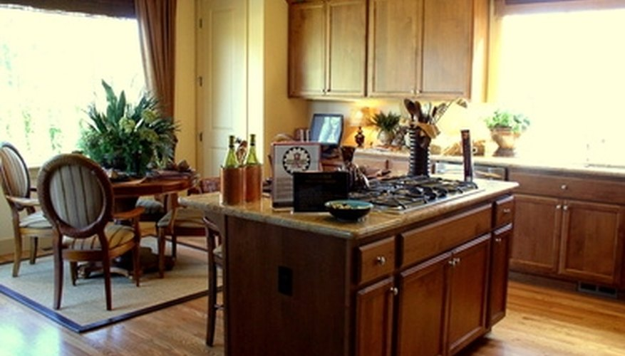 The lighting used in kitchen areas needs to be stronger than that used in a den.