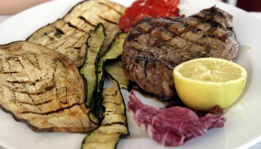 Charbroiled food