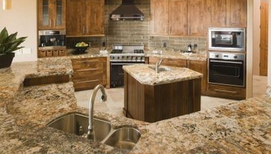 Marble Counters Require Special Care To Maintain.