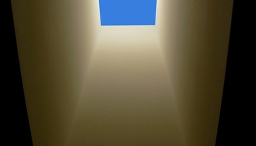 A skylight fills a room with sunlight, which you can dim by adding a window tint to the surface of the glass.