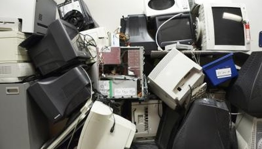 Get rid of your old junk that you no longer use.