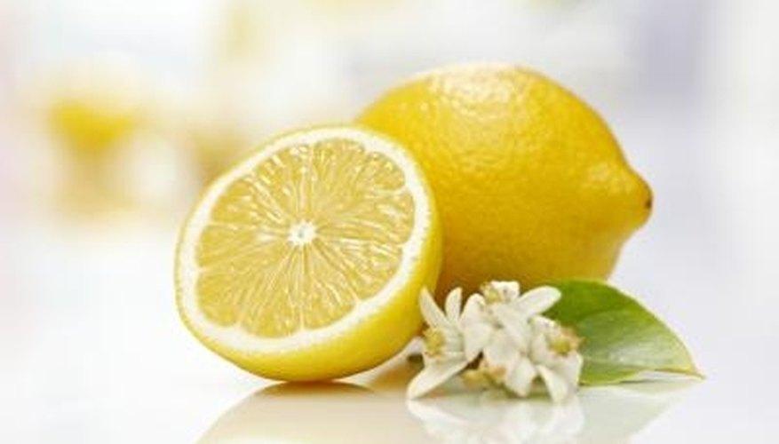 Lemon juice and salt can clean mildew stains.