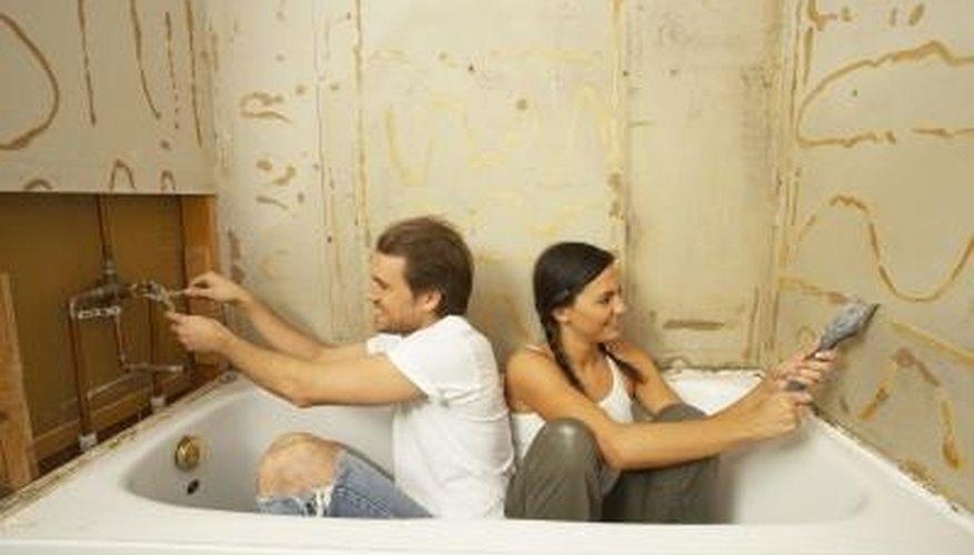 Fix Rotted Drywall Around a Bathtub