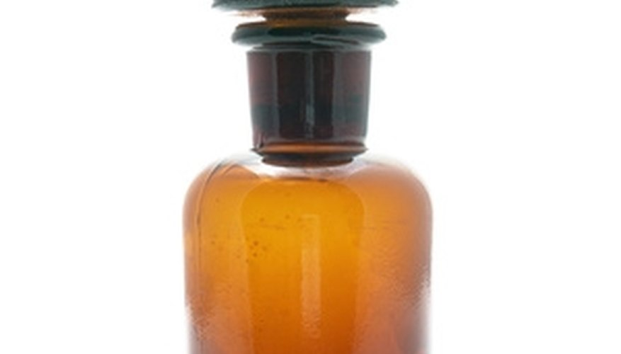 One of the main tools of the historic apothecary was the humble glass jar.